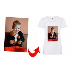 Koszulka ze zdjęciem...